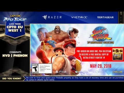 Capcom Pro Tour 2018 Online Ranking: EU West 1 - Part 2