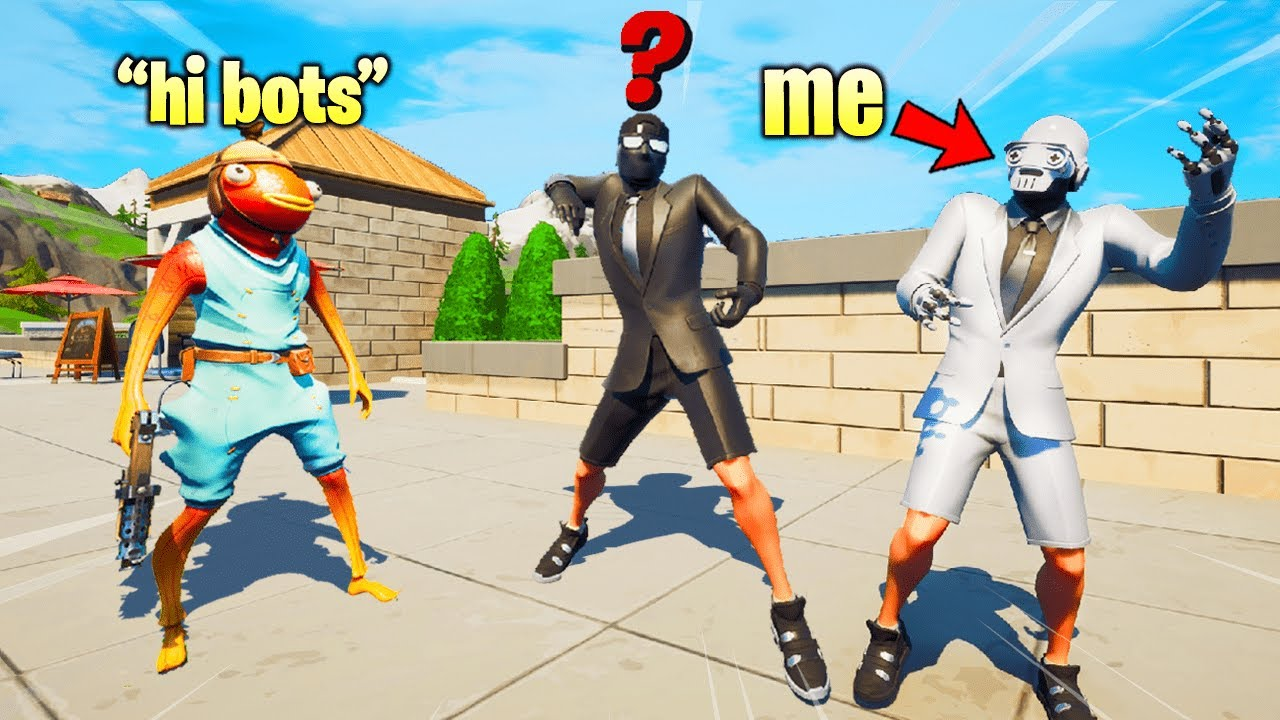 I Pretended I'm the LAST HENCHMEN in Fortnite (it worked)