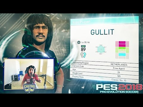 GULLIT IN A PACK! OR IN A BLACK BALL?! IDK PES 2018