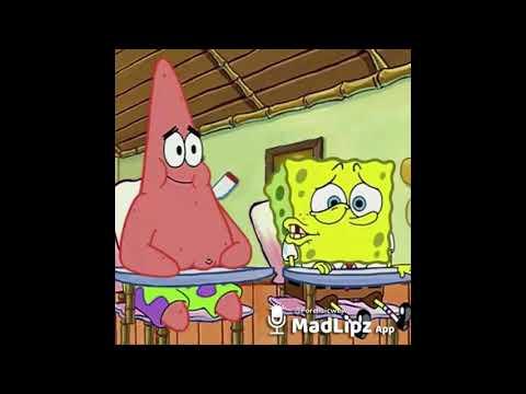 Funny spongebob voice over