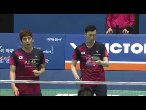 Victor Korea Open 2016 | Badminton F M2-MD | Lee/Yoo vs Li/Liu