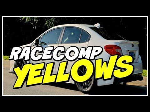 RACECOMP YELLOW LOWERING SPRINGS 2015-2017 WRX CANYON RUN
