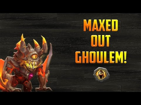 Castle Clash: Maxed Out Ghoulem Gameplay!   Crazy Amounts Of Damage!