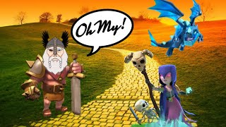 Frozen Witch, Electro's, The Odin, OH MY! Incredible War In Clash Of Clans