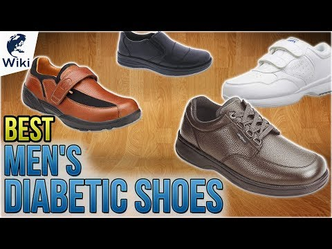 8 Best Men's Diabetic Shoes 2018