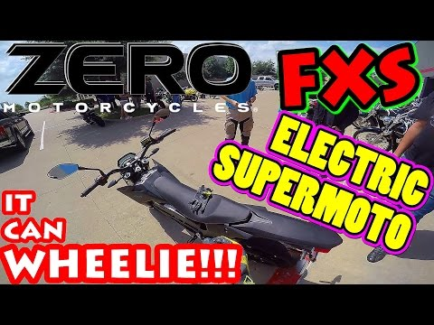 ZERO Electric Motorcycles FXS Supermoto Test Ride Review