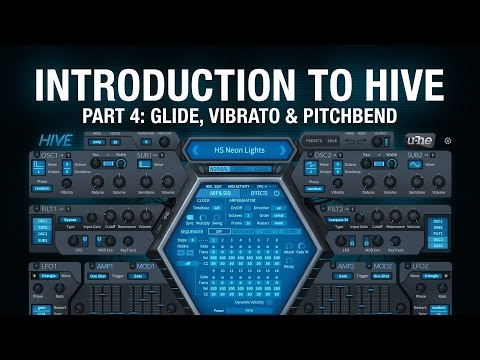 Introduction to Hive - 4 Glide, Vibrato & Pitchbend