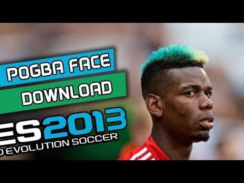 Pes 2013 New Face Hair Paul Pogba 201819 Youtube