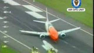 TNT, B737, Birmingham East Midlands Airport, Acil durum inişi