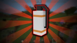 How to make Throwable Poison Gas - Minecraft PE Command Block Tutorial