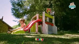 Játszótér Fun Center Smoby csúszdával hossza 150 c