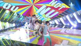 NU EST Not Over You 뉴이스트 낫 오버 유 Music Core 20120804
