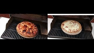2 Pizzas a Genesis II and a Pizza Stone   Grilled Pizza