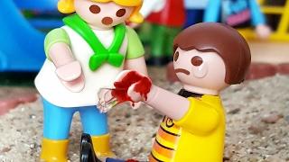 🔴 Playmobil Film - TIM TUT SICH WEH - Playmobil Serie Tim deutsch Schule / Kinderfilm Glasscherbe
