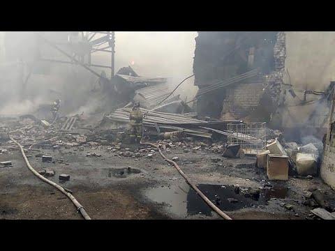 16 قتيلا على الأقل في حريق مصنع استراتيجي لإنتاج البارود في روسيا  - نشر قبل 12 ساعة
