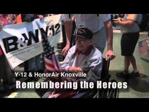 Y-12 greets Honor Air Veterans