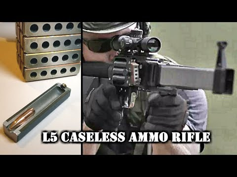 Forward Defense Munitions L5 Caseless Ammo Rifle
