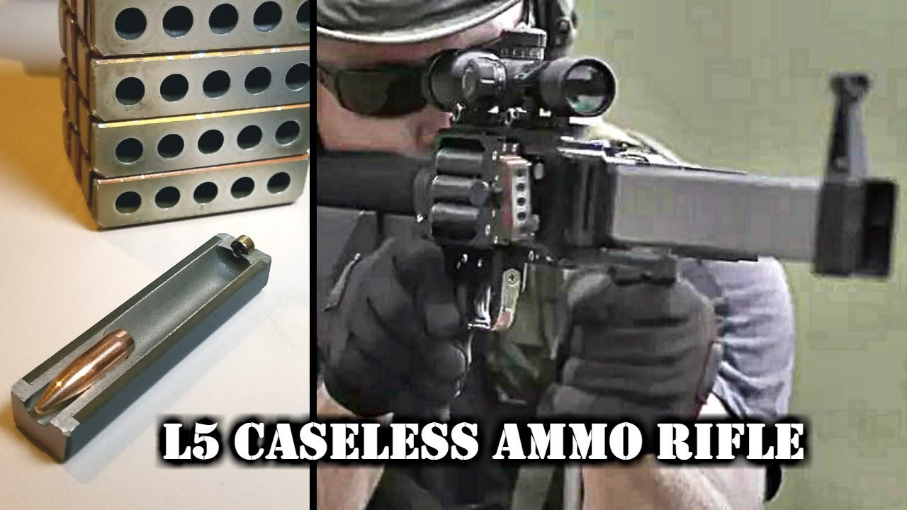 Forward Defense Munitions L5 Caseless Ammo Rifle