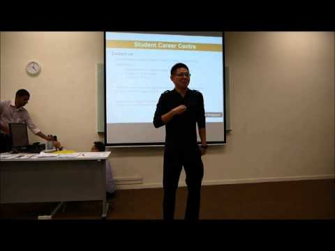 Strongerhead Career tips for fresh grads 2013 Curtin pre graduation ceremony