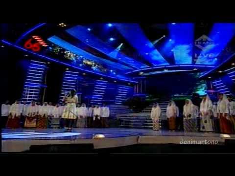 """Sherina & Vivace Choir """"Rindu Rasul"""" Pesta Merdeka Ramadhan 17 August 2010 [HD]"""