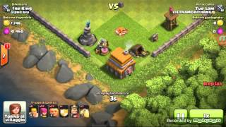 Clash of clans ep 2 la guerra!