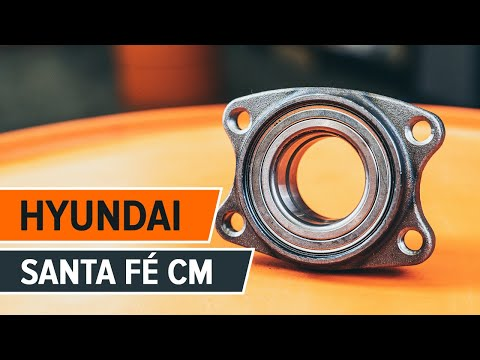 How to replace Front wheel bearing on HYUNDAI SANTA FÉ CM TUTORIAL | AUTODOC