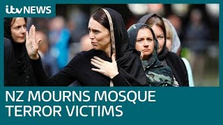New Zealand mourns victims of mosque terror attacks | ITV News