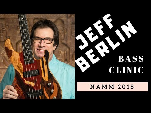 Jeff's Bass Clinic at NAMM 2018