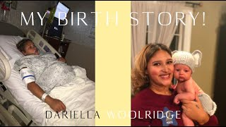 BIRTH STORY & WHY I DON'T RECOMMEND THE MIDWIVES BREW! | DARIELLA WOOLRIDGE