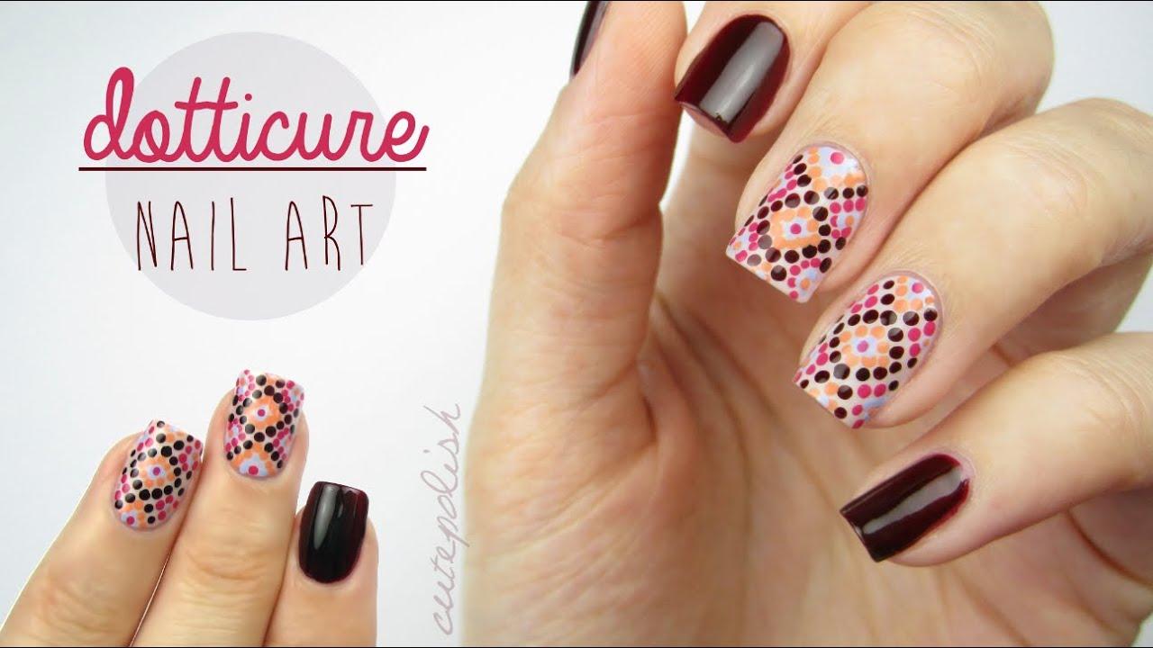 Dotticure Nail Art! - YouTube