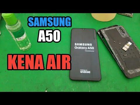 servis-hp-samsung-a50-kena-air