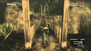 Metal Gear Solid 3 HD Collection Gameplay
