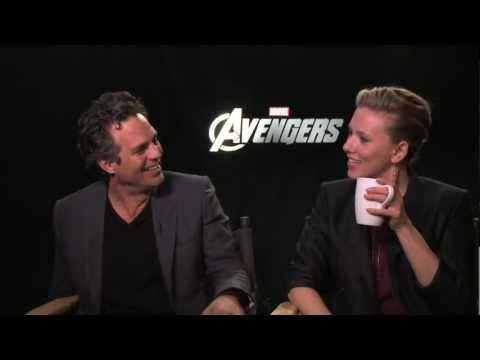 THE AVENGERS interviews - Ruffalo, Joss Whedon, Hiddleston, Evans, Hemsworth, Johannson, Jackson