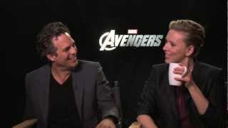 THE AVENGERS interviews - Ruffalo, Joss Whedon, Hiddleston, Evans, Hemsworth, Johannson, Jackson
