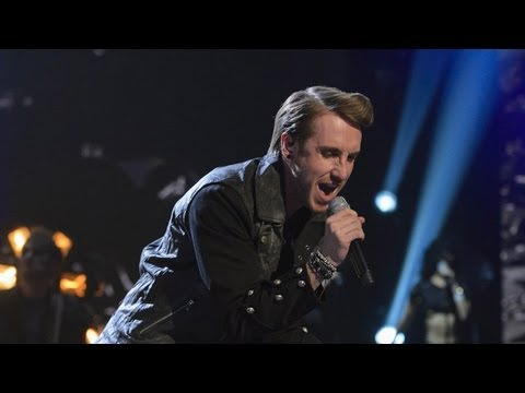Kye Sones sings Robbie Williams' Let Me Entertain You - Live Week 4 - The X Factor UK 2012