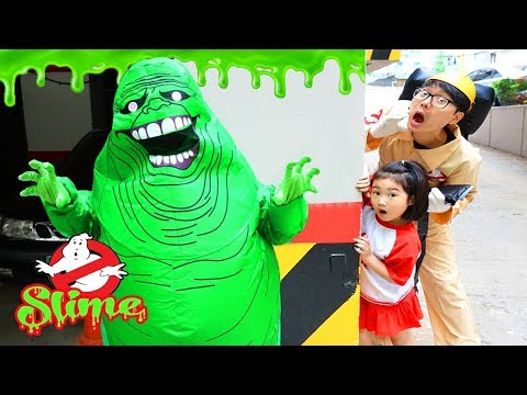 Kids Haunted House Slimer Ghost Busters
