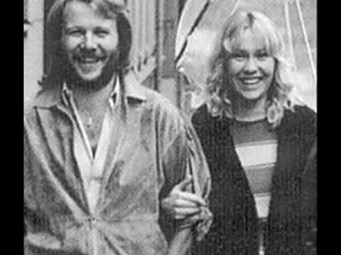 Agnetha Faltskog and Benny Andersson