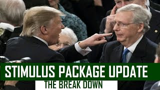 TALKS BREAK DOWN Second Stimulus Check & Stimulus Package Update Aug1,2020