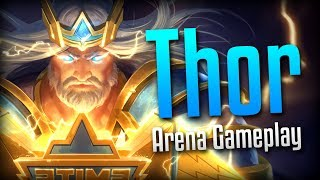 Smite: The Hammer Thrust!- SWC 2018 King Thor Arena Gameplay