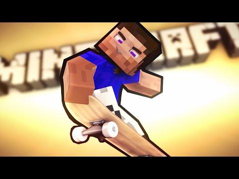 Я - СКЕЙТБОРДИСТ! - Обзор Карты (Minecraft)
