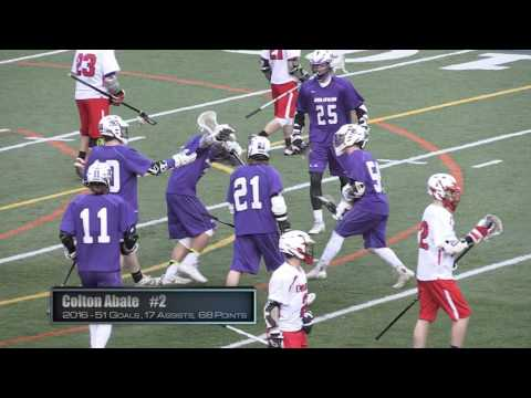 Colton Abate Sports Recruiting Video-Lacrosse