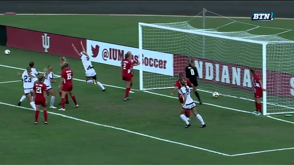 Northwestern at Indiana - Women's Soccer Highlights - YouTube