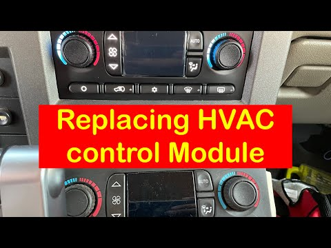 HOW TO REPLACE HVAC CONTROL MODULE ON A HUMMER H2