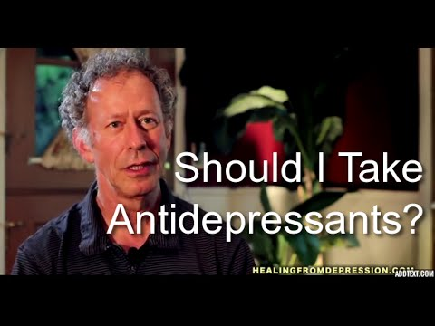 how to know if i need antidepressants