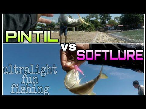 SOFTLURE Vs PINTIL❗ULTRALIGHT FUN FISHING