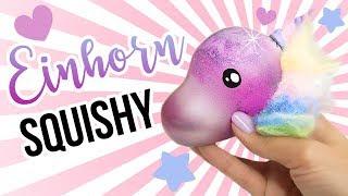 1€ SQUISHY! EINHORN DIY !!! Dafür hast du alles zuhause! 😱Einfach selber machen! Cute life Hacks