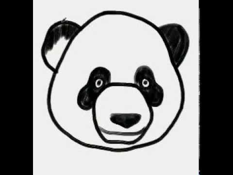 How To Draw A Panda Panda Nasıl çizilir Youtube