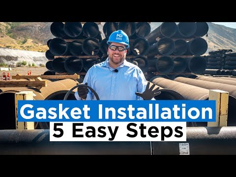 Ductile Iron Pipe Gasket Installation