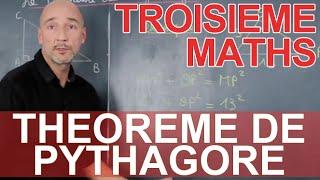 Théorème de Pythagore - Maths 3e - Les Bons Profs
