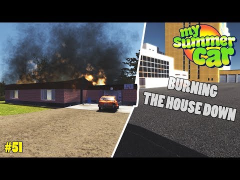 House Fire! - New Buildings | My Summer Car Beta